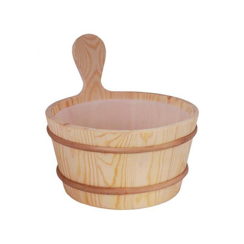 Galeata din lemn de pin 3L pentru sauna  de la Sentiotec referinta 1-028-270