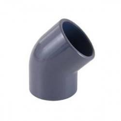 Cot PVC D140, 45 grade  de la Cepex referinta 01756