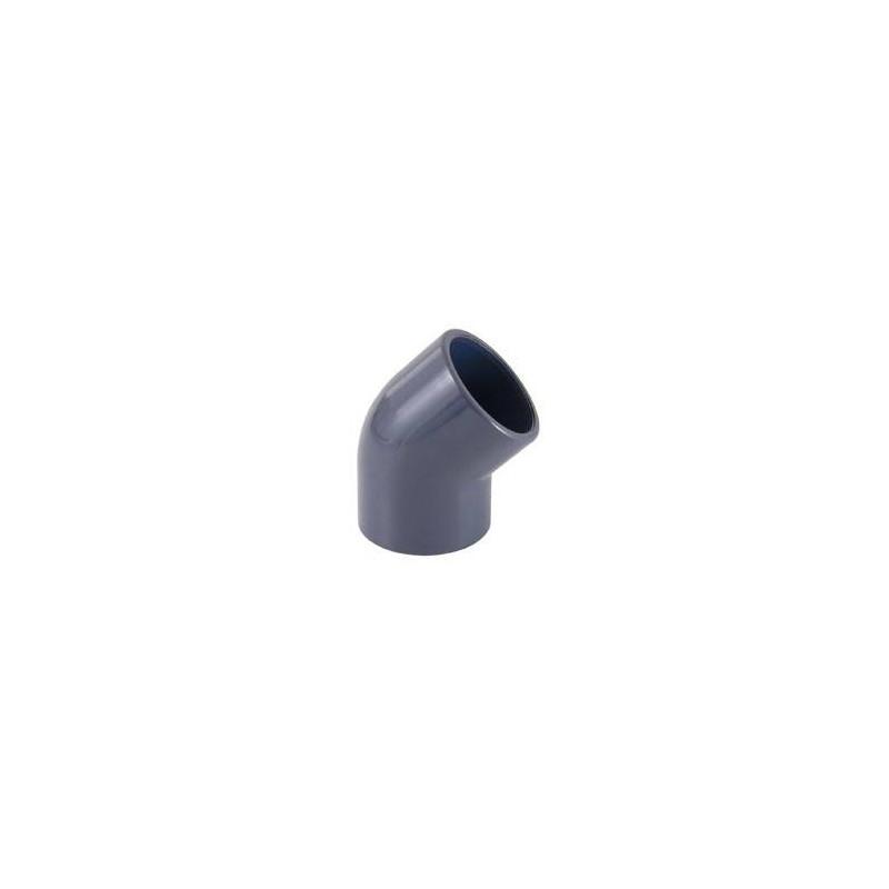 Cot PVC D125, 45 grade  de la Cepex referinta 01755