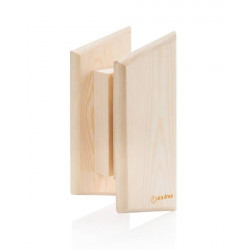 Usa sauna alder sticla gri 800 x 1900 mm  de la  referinta HS-819HL