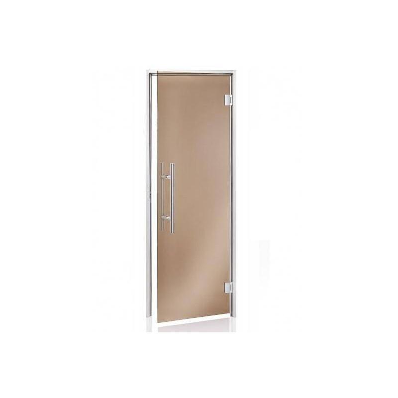 Usa premium baie aburi sticla gri 8 x 21  de la SpaZone referinta HS-821H PRE