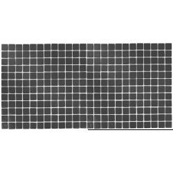 Mozaic sticla Dark Grey, suport polybond, 2.5x2.5 cm, cutie 2mp  de la SpaZone referinta HS163