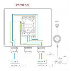 Modul automatizare pompa piscina  de la Hayward Pool referinta HPOWTPOOL