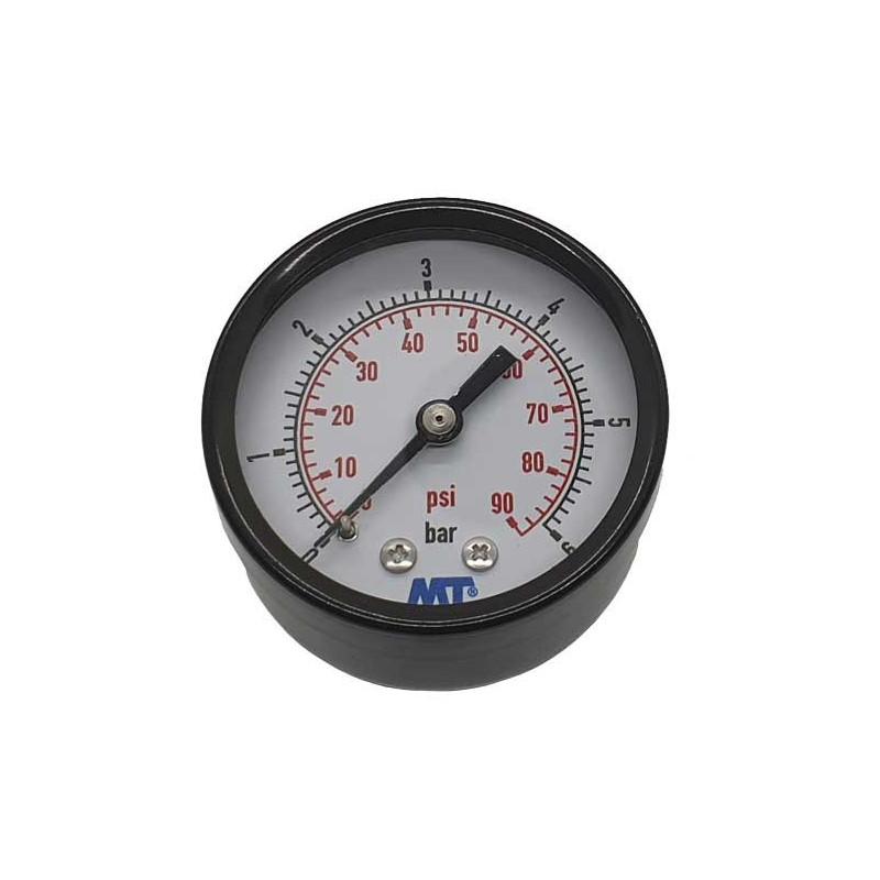 Manometru filtru piscina 0-6 bari conexiune axiala  de la SpaZone referinta MPISA50/030