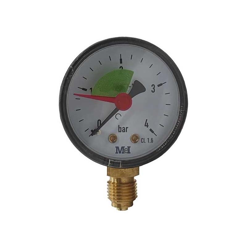 Manometru filtru piscina 0-4 bari conexiune verticala  de la SpaZone referinta MPIS50/030