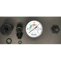"""Set manometru filtru piscina Aster, conexiune axiala 1/8""""  de la AstralPool referinta 4404190101"""