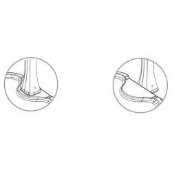 Cadita pentru dus Arkema - Antracite  de la  Arkema Design referinta D108/7016