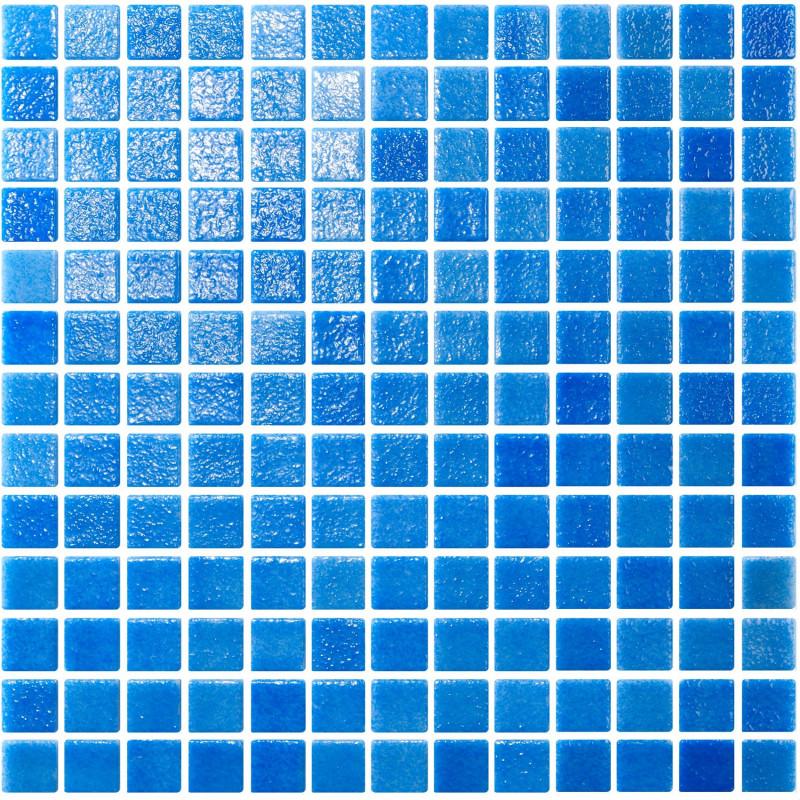 Mozaic sticla Niebla Skyblue suport hartie 25x25 mm  de la AstralPool referinta 21297
