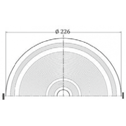 Skimmer cu insertii gura mare liner  de la Hayward Commercial Aquatics referinta 060111300000