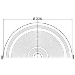 Skimmer cu insertii gura mica liner  de la Hayward Commercial Aquatics referinta 060110300000