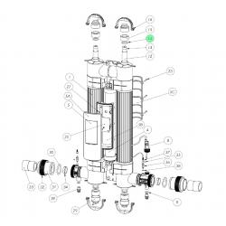 Garnitura O-ring sticla protectie lampa UV  de la Elecro Engineering referinta SP-UV-ORS