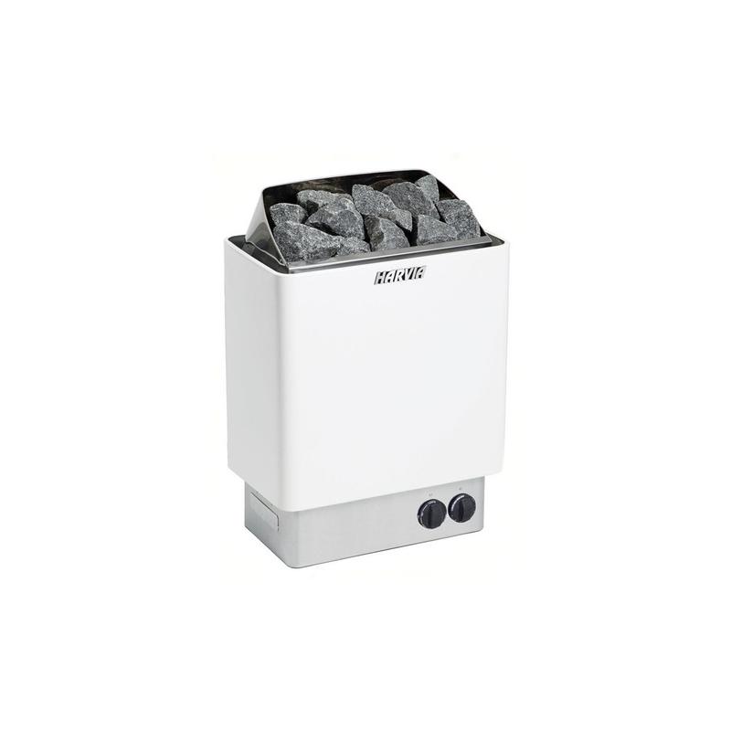 Incalzitor sauna KIP Inox, 4.5kW comanda incorporata  de la Harvia referinta 1-046-352
