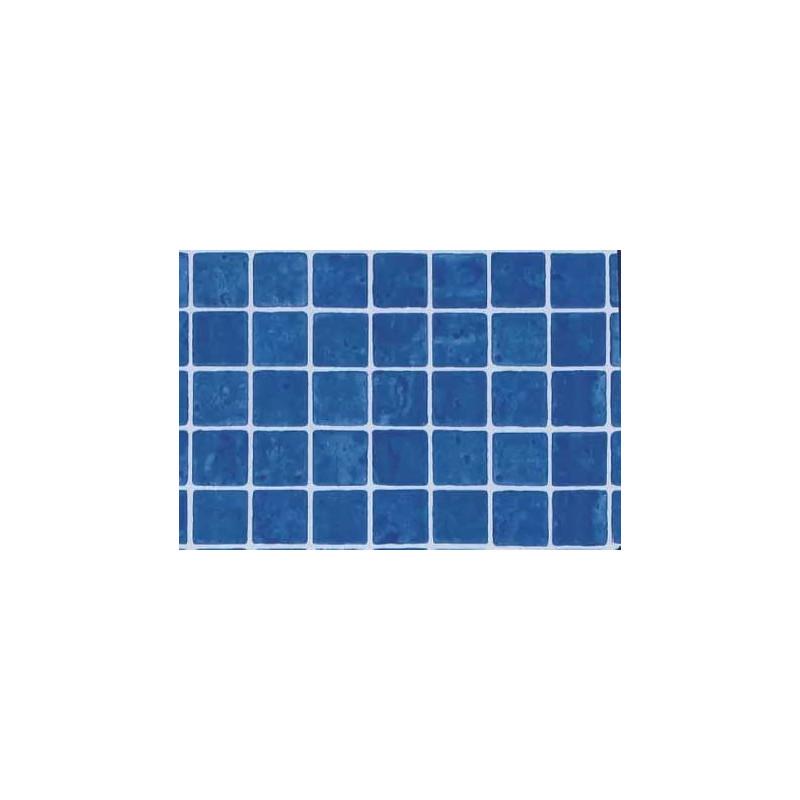 Liner PVC antiderapant 1.5mm Mosaic Blue Grip  de la SopremaPool referinta 156991/MNB