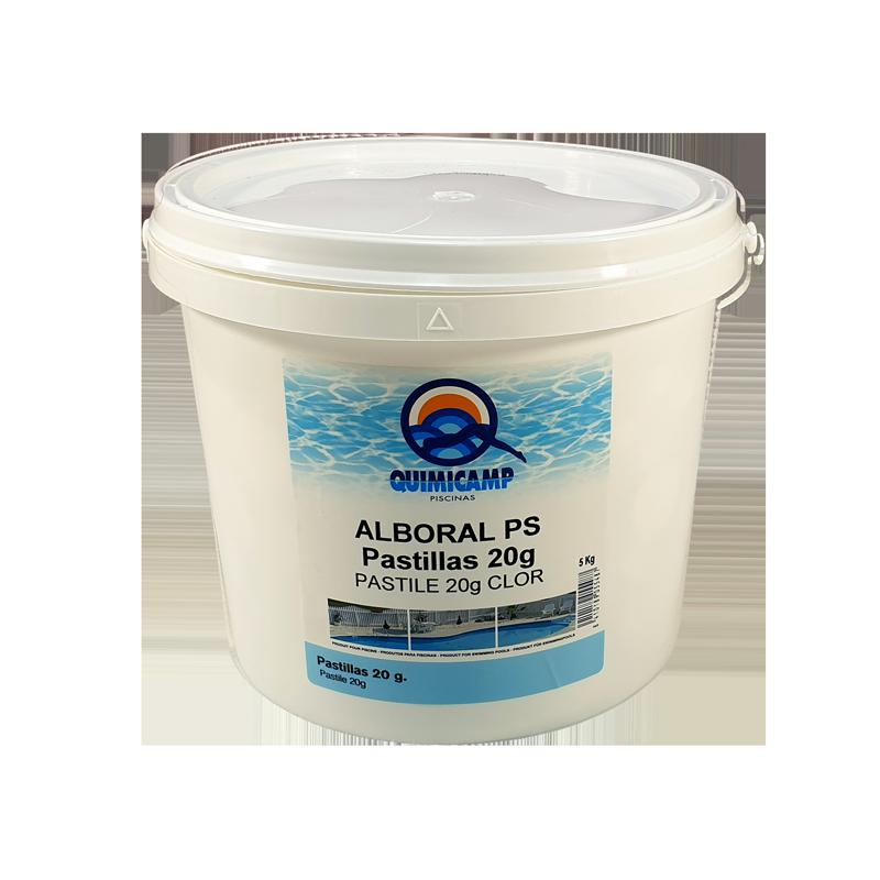 Clor rapid tablete 20 grame pentru piscine, 5kg  de la Quimicamp Piscinas referinta CHS 250-5A
