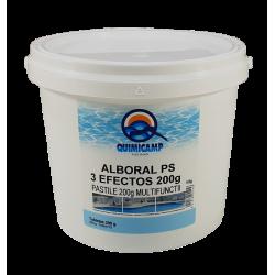 Clor tablete triplex 200 grame pentru piscine, 5kg  de la Quimicamp Piscinas referinta CHS 392-5A