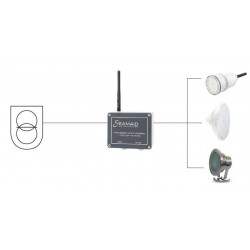 Modul control iluminat LED, 1 canal, max 240W  de la Seamaid referinta 061910060000