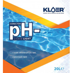 Corector pH minus lichid light 20L  de la KLOER referinta CPH20LL