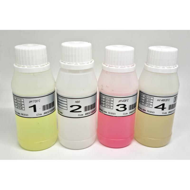 Set solutii calibrare pH - Redox (ORP)  de la Seko referinta 9900102009