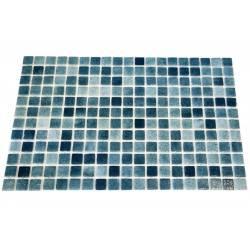 Mozaic sticla Niebla Green, suport polybond, 2.5x2.5 cm, cutie 2mp  de la SpaZone referinta HS13049