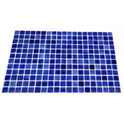 Mozaic sticla Niebla Ocean, suport polybond, 2.5x2.5 cm, cutie 2mp  de la SpaZone referinta HS13019