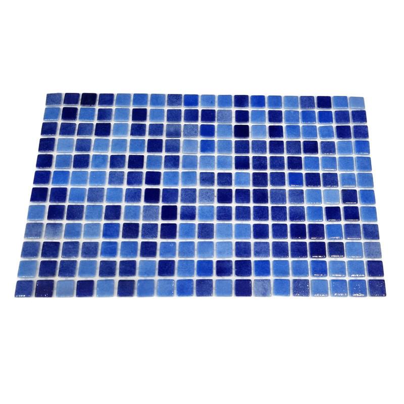 Mozaic sticla Niebla Mix3, suport polybond, 2.5x2.5 cm, cutie 2mp  de la SpaZone referinta HS13139