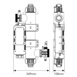 Sistem tratare lampa UV Quantum Mini 35mc  de la  Elecro Engineering referinta Q-35-EU