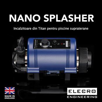 Incalzitoare Nano Splasher din Titan